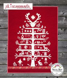 Christmas Tree Quilt Pattern - Jul i Scandinavia | Craftsy