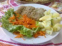 Nutrição: Receita de peixe à milanesa sem fritura