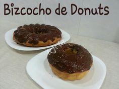 Delicioso bizcocho de donuts.