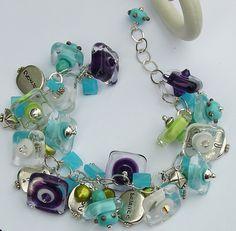 Blue/green bracelet. Summer