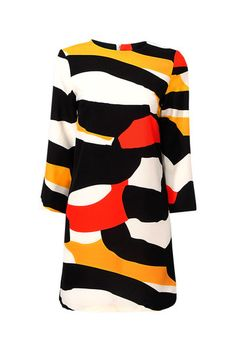 Multi-color Dress with 3/4 Sleeve  $17.95