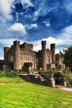 Augill Castle, Kirkby Stephen, Cumbria. England. Built in 1841 by John Bagot Pearson. Now a hotel voted best B & B in Cumbria