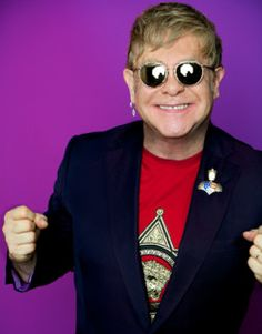 """Elton John is 69 years young today! In celebration of Elton's 69th birthday (3/25/16), we present you with """"Ten Things You May Not Have Known About Elton John."""""""
