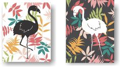 Floral Flamingo Kitsch Art Unframed Prints (Set of 2). Floral Flamingo Art Print Set of 2. A modern take on the kitsch flamingo. Hang it in your bedroom or home office. Unframed Prints / Not Canvas 5x7, 11x14 & 12x16 sizes have a small border for easy framing with a mat 8X10 artwork is printed on a 8.5x11 inch sheet for easy framing with a mat Printed on premium heavyweight matte paper with archival inks Color may vary slightly due to differences in computer monitor settings.