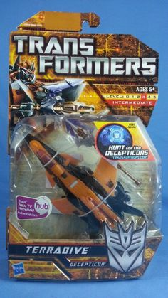 Transformers TERRADIVE Deluxe Hunt for the Decepticons HFTD 2010 MOSC