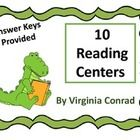 These 10 reading centers are just right for the end of second and the beginning of third grade.  There are 10 centers with 10 items each.  Some of ...