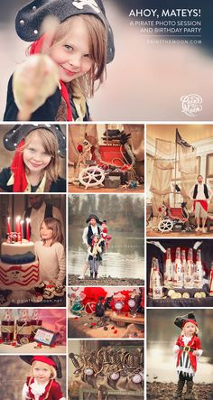Pirate Themed Photo Session and Birthday Party Ideas