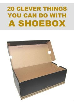 easy diy cardboard crafts great 20 clever things you can do with a shoebox crafts of easy diy cardboard crafts Diy Crafts To Do, Diy Projects To Try, Easy Crafts, Easy Diy, Diy Projects With Shoe Boxes, Clever Diy, Art Projects, Cardboard Furniture, Cardboard Crafts