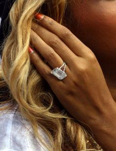 I am in LOVE with this ring! A little too big but beautiful!!!!