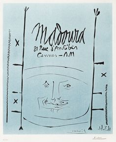 Pablo Picasso, Picasso Linocut Madoura, 1961. Picasso Lithographs for sale at Masterworks Fine Art Gallery.