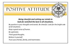 how to develop positive attitude pdf