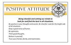 how to develop positive attitude pdf