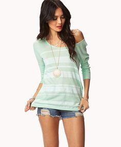 Boxy Striped Sweater