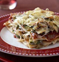 Lasagnes aux courgettes et au chèvre - Ôdélices : Recettes de cuisine faciles et originales !