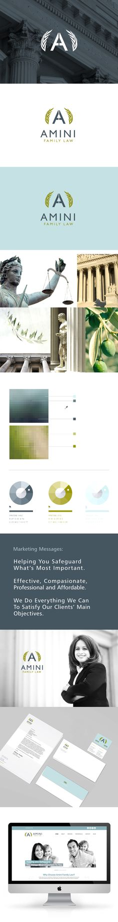 Law Firm Branding - Logo Design - Website - Printing