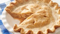 Our classic apple pie takes a shortcut with easy Pillsbury™ refrigerated pie crust! Baked with a filling of fresh apples and warm spices, there is as much simple joy in preparing this pie as there is in eating it. Each bite makes your friends and family feel warm, cozy and like they're wrapped in a hug. Whether you bake it for a holiday, a potluck or as a special weekend dessert, this timeless pie recipe is guaranteed to spark joy.