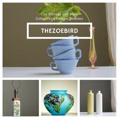 TheZoeBird is the newest member of The Vintage and Main Collective. Check out their fabulous vintage beauties at http://www.etsy.com/shop/thezoebird  or at http://www.etsy.com/pages/vintageandmain