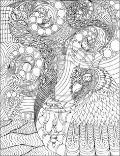 Big Adult Coloring Books Unique Phil Lewis Art Coloring Books for Adults Printable Coloring Pages, Colouring Pages, Coloring Pages For Kids, Coloring Sheets, Coloring Books, Zen Doodle, Doodle Art, Banksy, Line Art