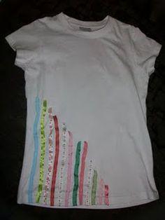 Ribbon tshirt