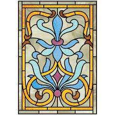 Art Nouveau was used quite a lot with stain glass work; this was due to the way that it used rich colours and organic shapes. Description from urbanninjagm.tumblr.com. I searched for this on bing.com/images