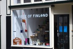 A Piece Of Finland - our Finnish Design Shop & Coffee Corner in Amsterdam. Opened in April 2014.