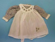 Puppenkleidung-Kleid-und-Schuerze-ca-40-cm
