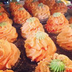It's that time of year again! #feelingsmitten #fall #cupcakebathbomb #cupcakecottage #cupcakes #pumpkin #pumpkinbiscotti #sprinkles #orange #green