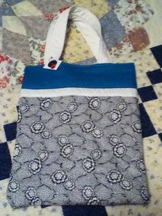 Items similar to Black, White & Teal Bag on Etsy Small Tote Bags, Polka Dots, Pouch, Teal, Reusable Tote Bags, Black And White, Trending Outfits, Unique Jewelry, Handmade Gifts