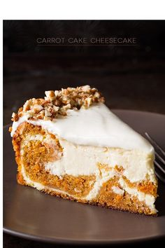 Best Of Cooking: Carrot Cake Cheesecake