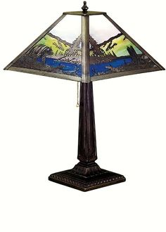 Grizzly Creek Table Lamp