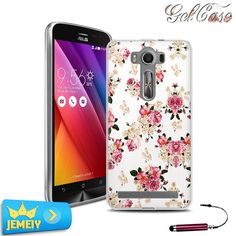 For Asus Zenfone 2 Laser ZE500KL ZE550KL ZE551ML/zenfone Go Max Zoom selfie Case TPU Gel Back Cover Soft Silicone Tempered Glass