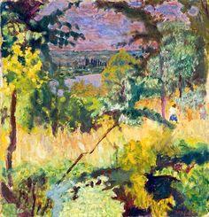 Échappée sur la rivière, Vernon (View of the River) / Pierre Bonnard