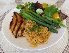 La cuisine de Messidor: Escalopes de poulet grillées à saveur de framboise