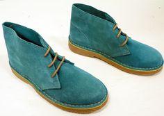 'X-Section' Womens Retro Mod Suede Desert Boots T | atomretro.com