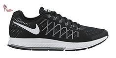 Nike Air Zoom Pegasus 32, Chaussures de Running Homme, Multicolore-Negro / Blanco / Plateado (Black / White-Pure Platinum), 38.5 EU - Chaussures nike (*Partner-Link)