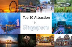 Top 10 Popular Attractions in Singapore #GalaxyTourism #SingaporeAttractions