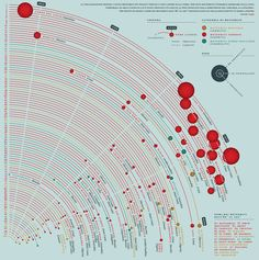 Beautiful infographic/data visualization ---- The biggest meteorites fallen on Earth