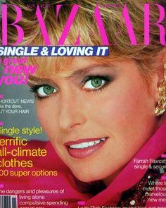 November 1982 Farrah Fawcett