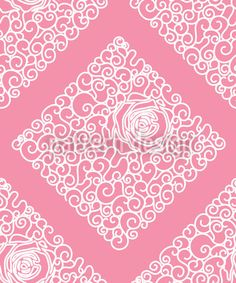 Sleeping Beauties Rose by Viktoryia Yakubouskaya available as a vector file on patterndesigns.com