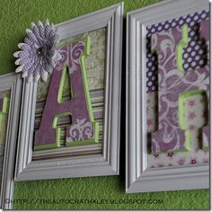 NAME LETTERS (2)