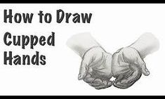 How To Draw Open Cupped Hands - Yahoo Video Search Results Cupped Hands, His Hands, Search, Drawings, Searching, Sketches, Drawing, Portrait, Draw