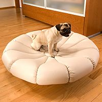 CAMILLA Imitation Leather - Luxury beds for dogs