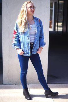The Ultimate Jeans Jacket & how to style it – A Snippet of Life