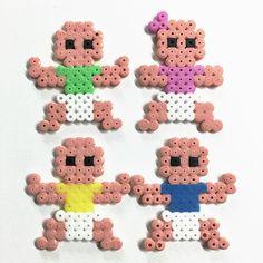 Babies hama beads by Molly & Selma