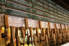 103 beers on tap at Banger's Sausage House and Beer Garden