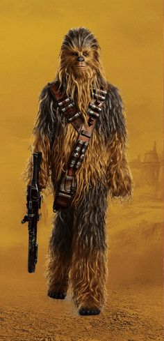 Chewbacca, I can't wait to see You in Star Wars Solo❤❤❤❤❤❤ Star Wars Art, Star Trek, Starwars, Han Solo And Chewbacca, Star Wars Tattoo, Love Stars, Star Wars Characters, Far Away, Sleeve Tattoos