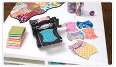 Sizzix Fabric Die Cutting Machine & Dies