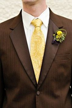 chocolate tuxedo | Exclusivesuits :: 3PC VESTED TUXEDO :: BROWN ...