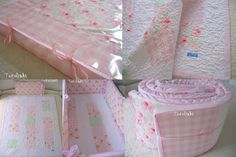 Tecelinha: Kit de Berço em espuma e patchwork - para Poliana!