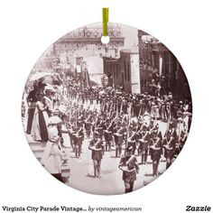 Virginia City Parade Vintage Ornament